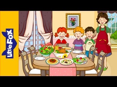 FOOD ▶ I Don't Like Salad - Learn English for Kids Song by Little Fox - YouTube