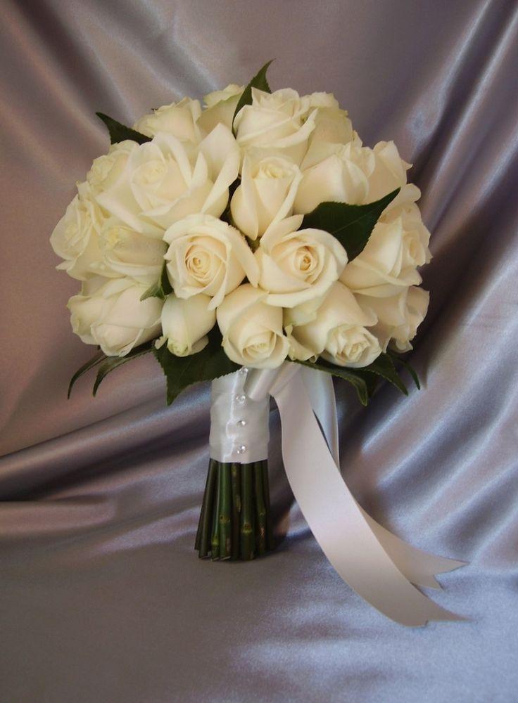 Bride's Bouquet  - white roses