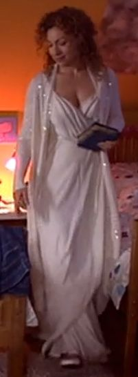 River Song white dress from 'Forest of the Dead' for the reception