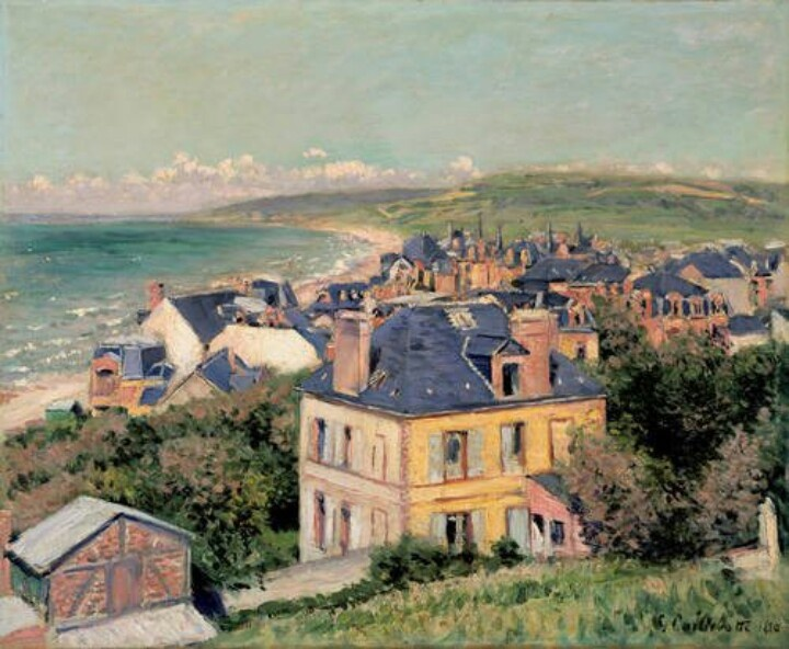 Gustave Caillebotte (French, 1848-1894). Villers-sur-Mer, 1880. Oil on canvas.