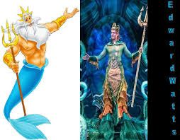 Image result for little mermaid king triton costume