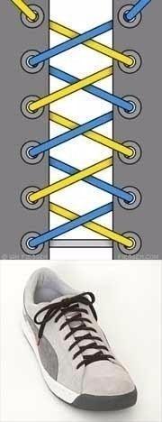 8 способов зашнуровать обувь