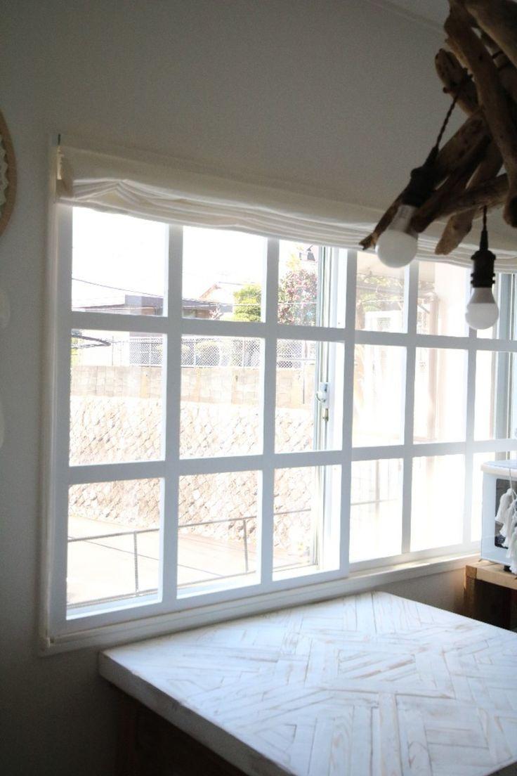スライドする窓枠をdiyしました 窓枠 リフォーム 窓枠 内窓 Diy