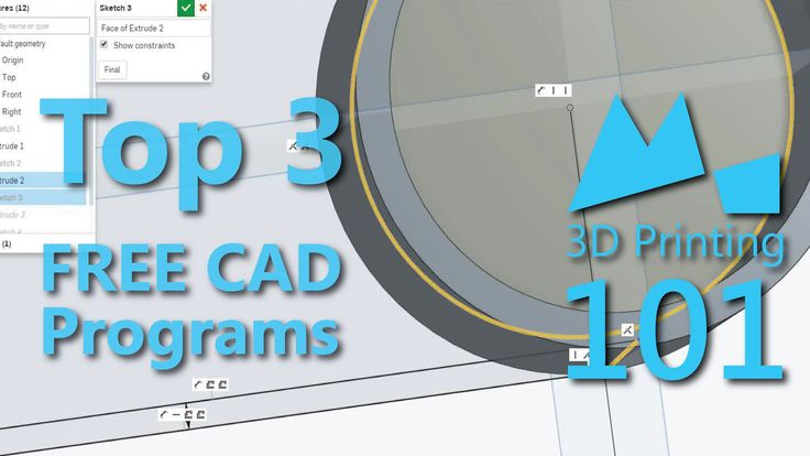 Best FREE CAD Programs for 3D Printing