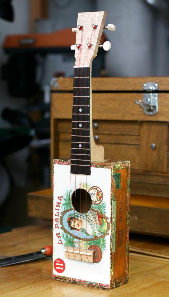 17 best images about diy instruments on pinterest cigar box guitar cigar boxes and cigar box. Black Bedroom Furniture Sets. Home Design Ideas
