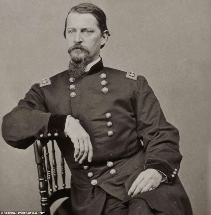 Winfield Scott Hancock (1824-1886) was well-known for his leadership at the Battle of Gettysburg, but that did not help his campaign in the presidential election of 1880