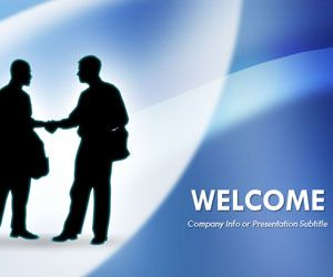 Free Negotiation PowerPoint template with businessman shaking hands is a free handshaking PPT template that you can download for business presentations in Microsoft PowerPoint