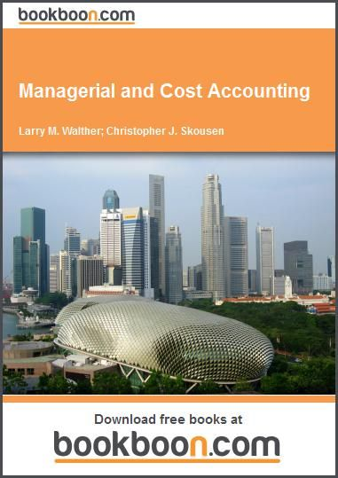 Managerial and Cost Accounting