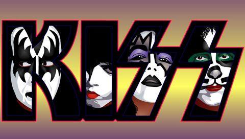 Kiss Logo | Kiss Logo Wallpaper Wallpaper Psp Kiss Logo Faces