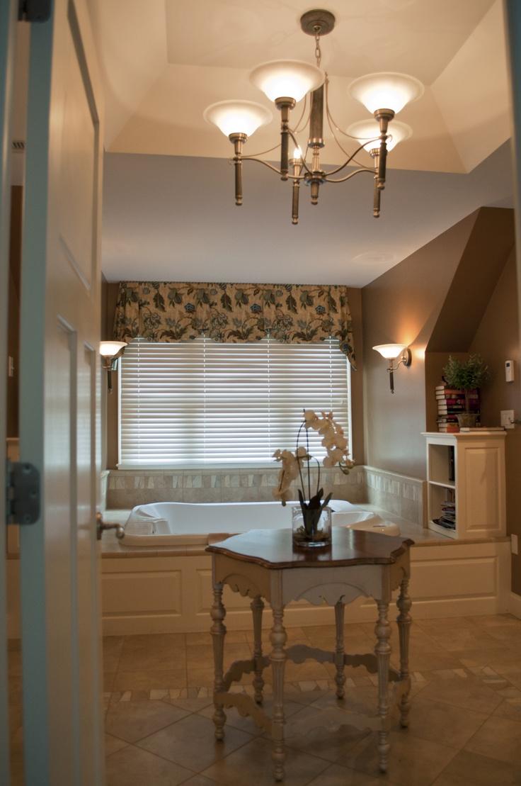 9 best bathroom design by pnb images on pinterest bathroom ideas elegant master bathroom marble floor and tub deck whirlpool tub remote control blinds