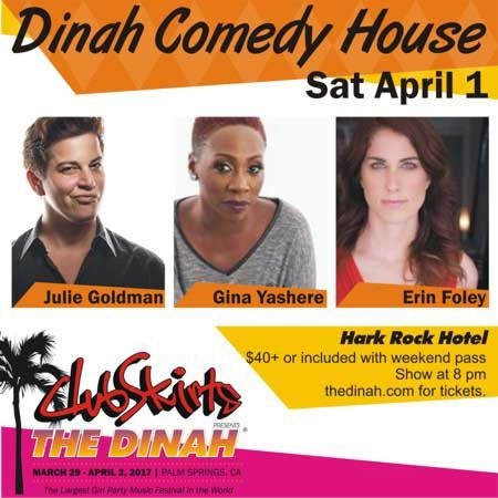 "Julie Goldman Slated to Headline ""The Dinah Comedy House"" With Gina Yashere & Erin Foley - Divine Magazine  #thedinah #thedinah2017"
