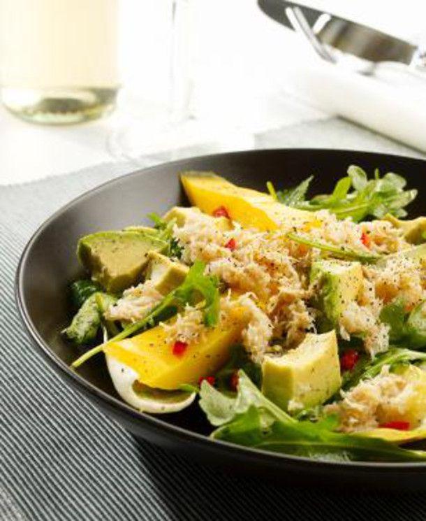 Unser beliebtes Rezept für Avocado-Mango-Salat mit Krebsfleisch und mehr als 55.000 weitere kostenlose Rezepte auf LECKER.de.