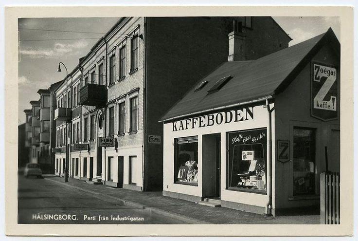 Helsingborg, Zoegas kaffebod. 1959. på Tradera.com - Vykort och bilder