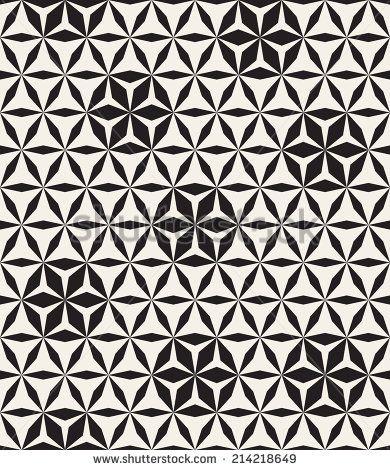 Pattern In Black And White Zigzag 스톡 벡터 일러스트레이션 109307756 : Shutterstock