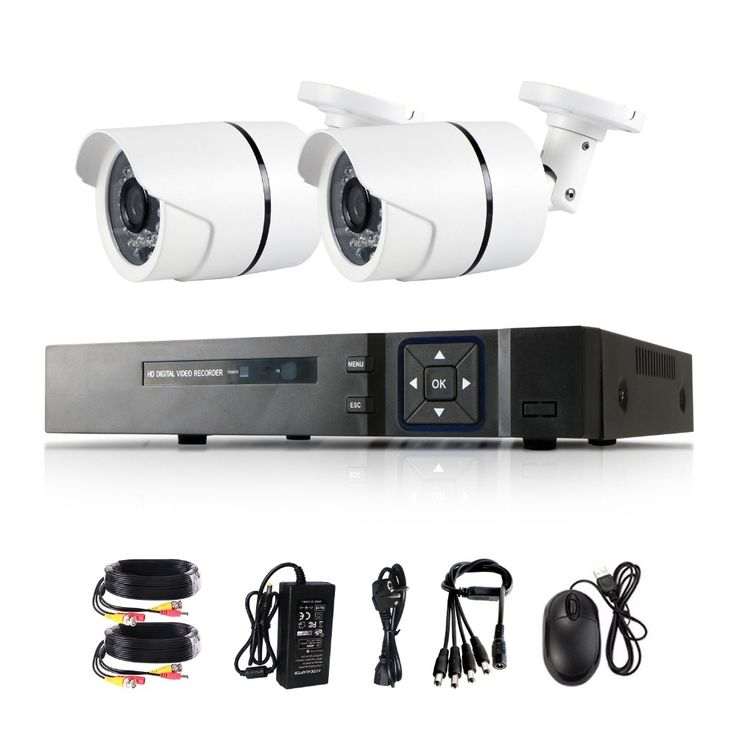 138.99$  Buy here - http://alibyc.worldwells.pw/go.php?t=32757509950 - 5 in 1 1080N HDMI DVR 3000TVL 1080P HD Outdoor Home Security Camera System 4CH CCTV Video Surveillance DVR Kit AHD Camera Set