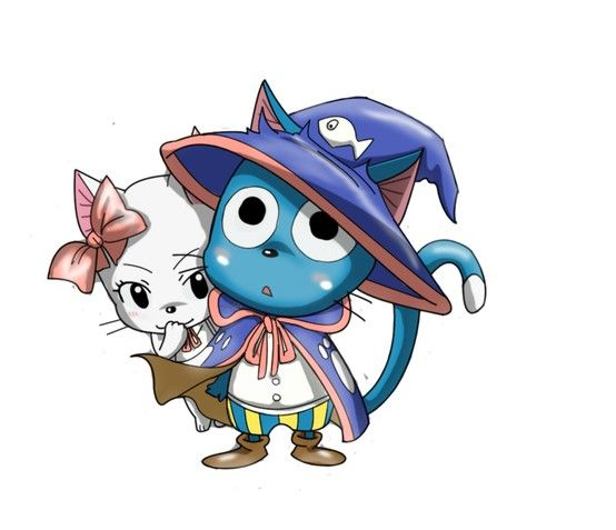 Happy and Carla, Fairy Tail