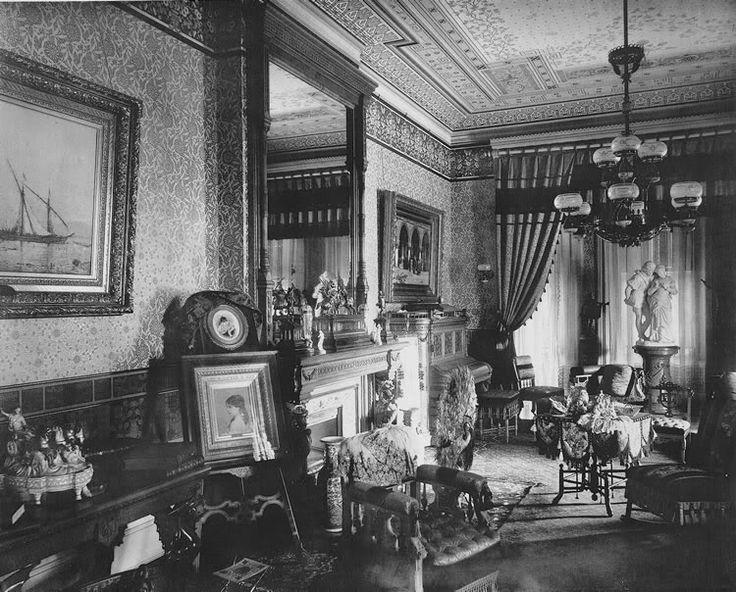 Eastlake style interior, 1890's