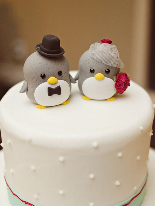 penguin cake topperSpecial Edition K212 by kikuike on Etsy