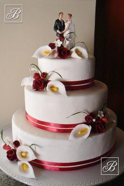 Warren's Cakes designer wedding cake