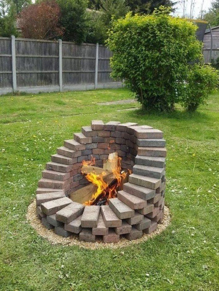 Legende 47 Beste Kaminideen Zum Selbermachen Oder Kaufen 3 Garten Landschaftsbau Steine Backyard Landscaping Designs Backyard Fire Fire Pit Backyard