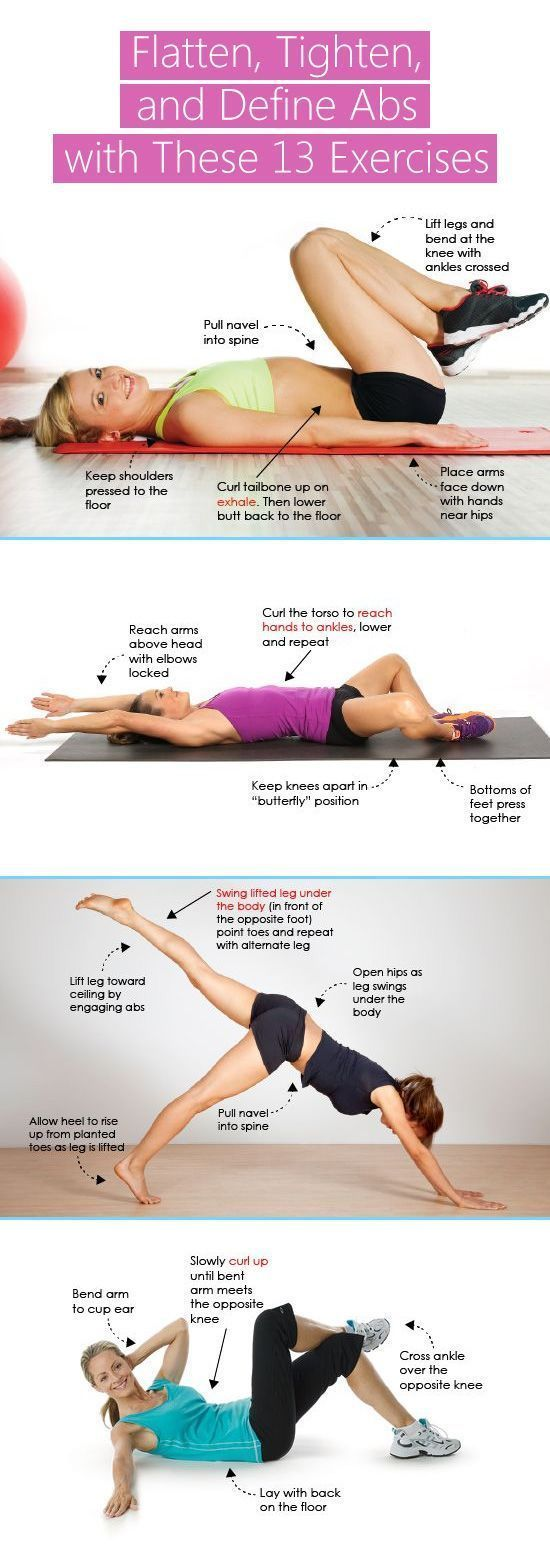 Flatten, Tighten, Define Abs with These 13 Exercises # ...