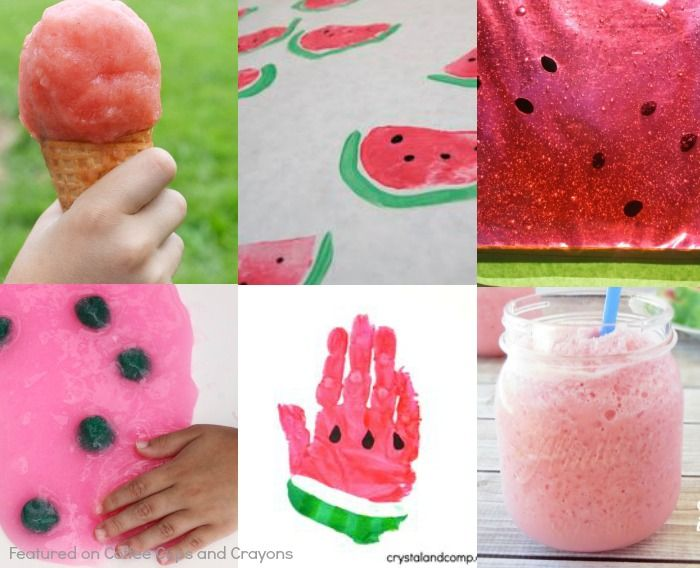 Here are some of our favorite fun watermelon activities! They are perfect for summer and sure to please any watermelon lover.