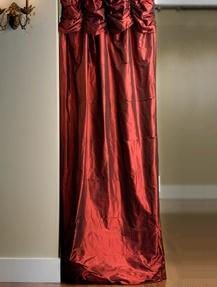 Thai Silk Ruched Curtains – WANT!!!! BAD!!!