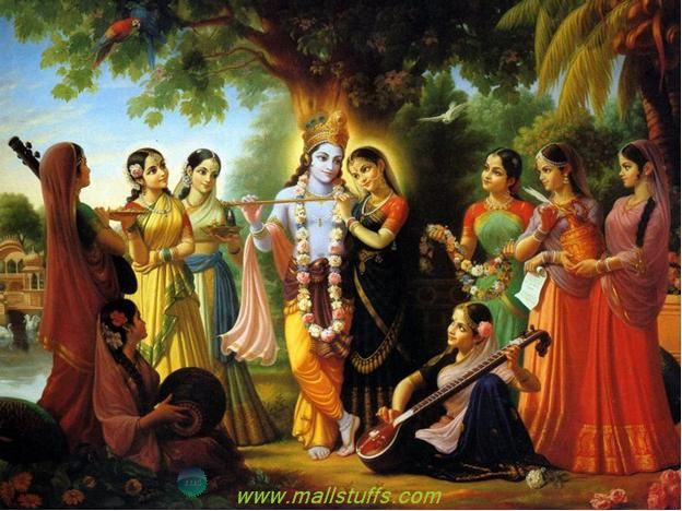 In almost all the photos of lord Krishna, you would see him with a flute in his hand. Flute symbolizes the supreme personality of the lord and so, without a flute in hand; no image of lord Krishna can be complete. So, in this article, we will see why lord Krishna is shown with a flute in his hand or why the lord chose flute as his divine musical instrument.