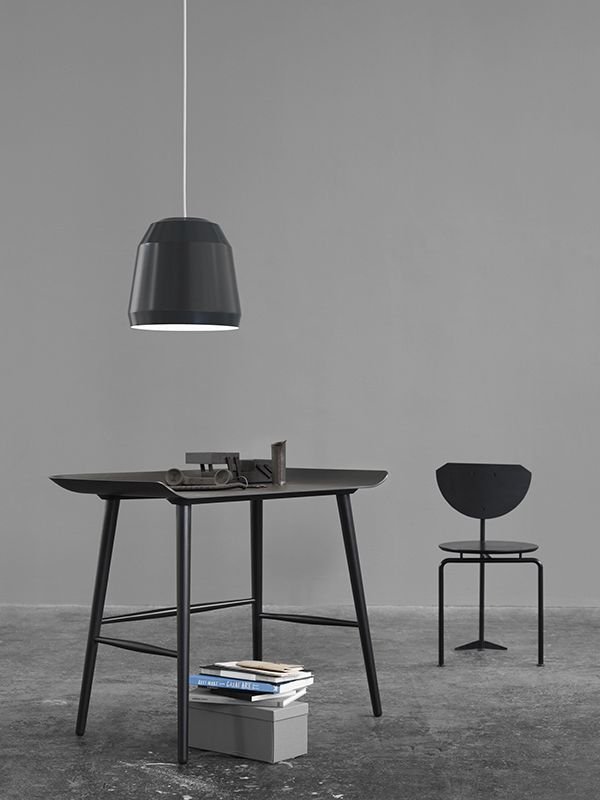 Mingus P2 Nearly Black designed by Cecilie Manz http://www.lightyears.dk/lamps/pendants/mingus-nearly-black.aspx