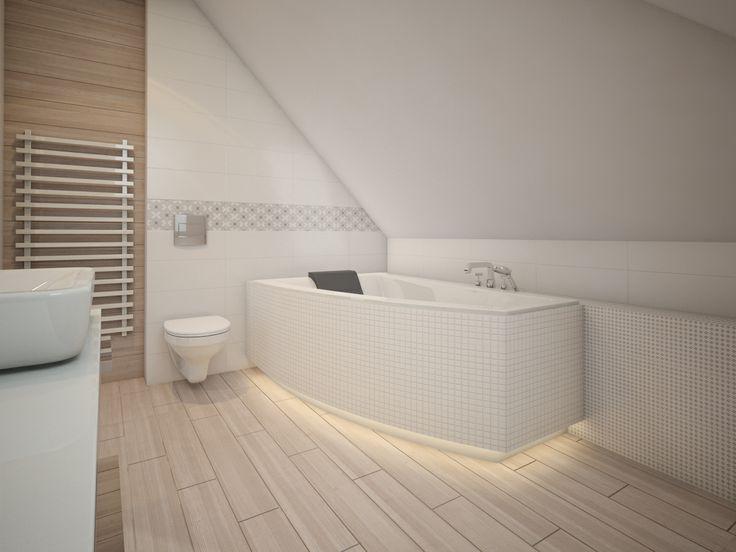 bathroom - white & natural