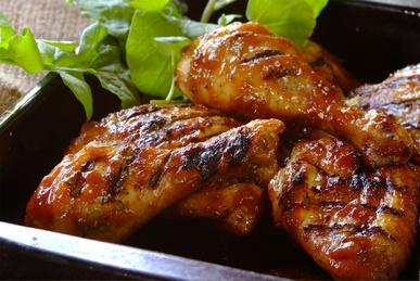 Sweet and Sticky Chutney Chicken