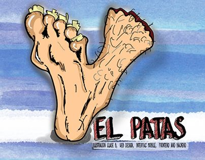 """Check out new work on my @Behance portfolio: """"El Patas Design"""" http://on.be.net/1P0hkPD"""