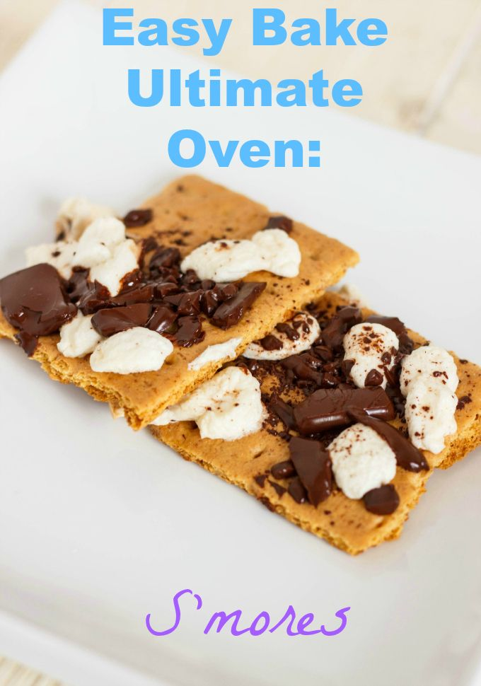 S'mores recipe for the new Easy Bake Ultimate Oven!