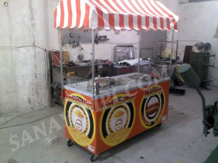 Bardakta Mısır + Hotdog Standı » - Sanayi tipi
