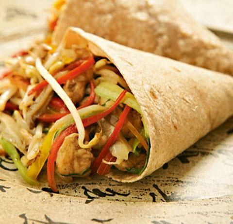 Masa para tacos mexicanos y relleno