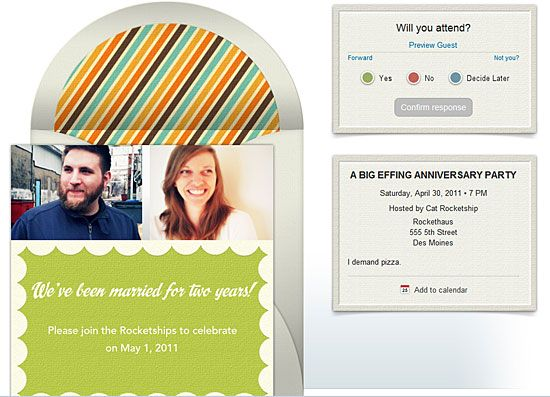 The best online invitations