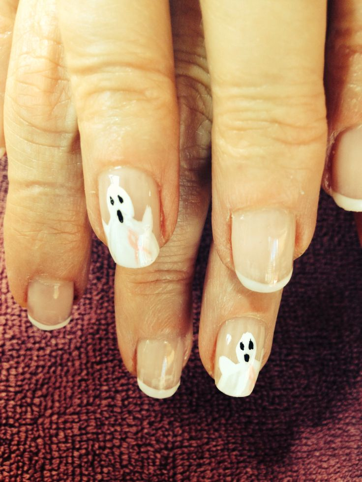 Oktober Nägel :) niedlichen Geist unterstützt Brustkrebs   – October nails