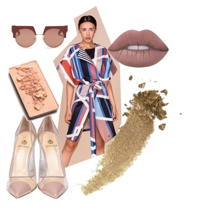 ACID GEOMETRICAL PRINT PH.7 COLLECTION by katkat-cdlii on Polyvore featuring Semilla, Marni, Gucci, Lime Crime and Trish McEvoy