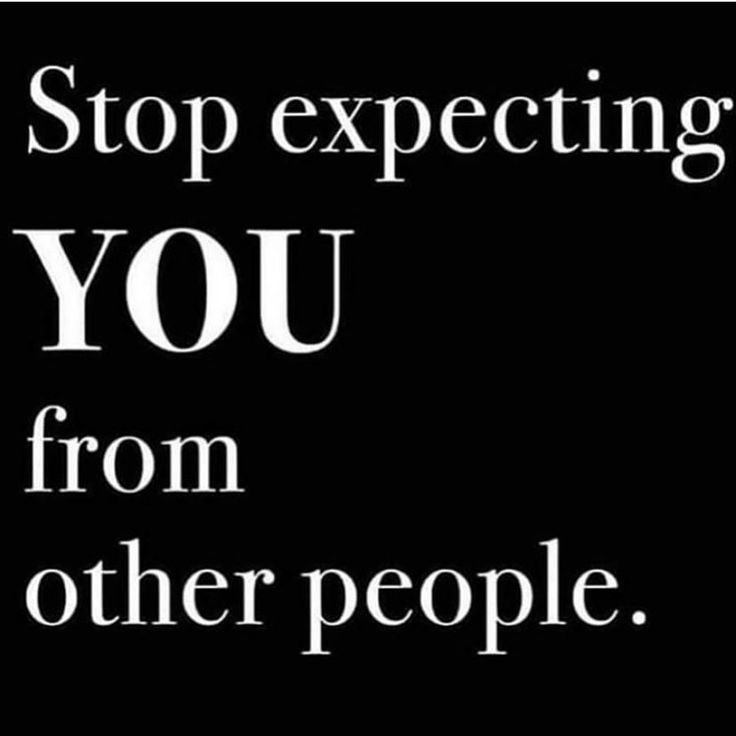 ️🤷🏾♂️🤷🏾♂️ Expectation quotes, Stop expecting, Words