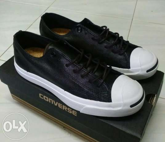 Converse Jack Purcell® Jack Leather Ox Black