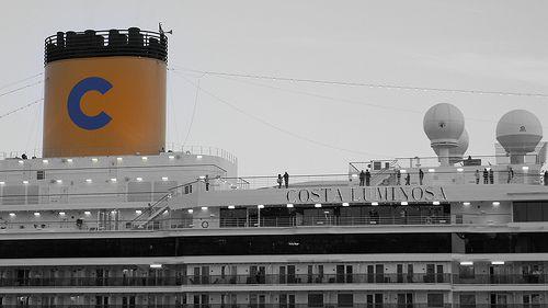 cruise ship; Costa Luminosa, in tutti i sensi