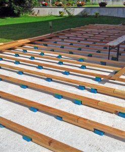 Holzterrasse Bauen Untergrund Vorbereiten Terrasse Building A