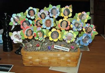 90th Birthday Party Ideas | ... out really cute and made a great centerpiece. Happy Birthday Dad