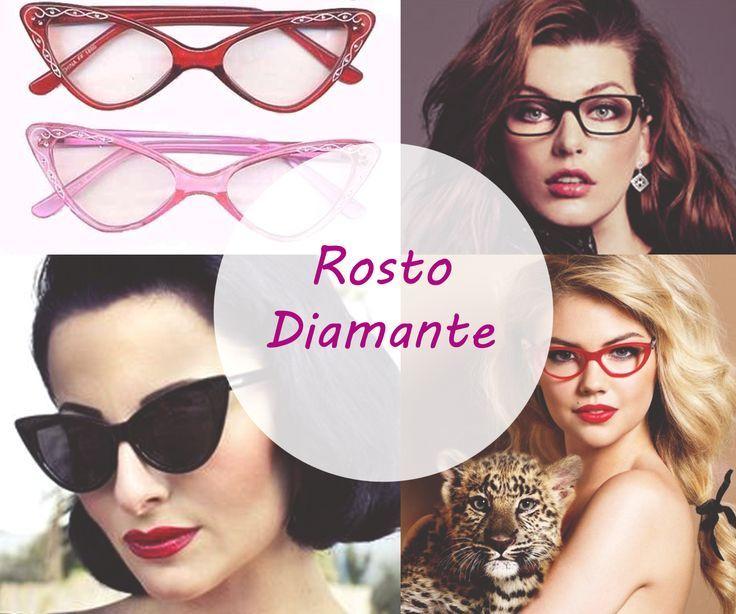Image Result For Oculos Rosto Diamante Tipos De Rosto