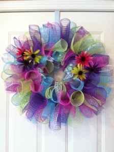 geo meshDiy Crafts Gift, Crafts Ideas, Geo Mesh, Wreaths Mesh, Crafts Holiday, Crafts Things, Wreaths Ideas, Mesh Wreaths, Crafty Ideas