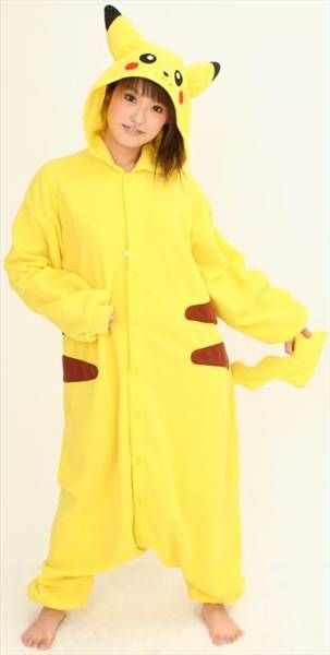 Homemade Pikachu Costume