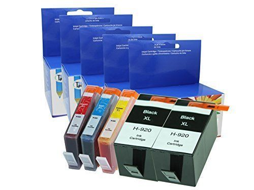 Cool Toner Remanufactured Ink Cartridge Replacement for HP 920XL (2 Black, 1 New #DoesNotApply