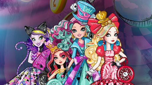 Quizzes & Games for Girls Online - Fun Kids Online Games | Ever After High