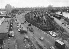 De Westerdoksdijk in 1968 in Amsterdam