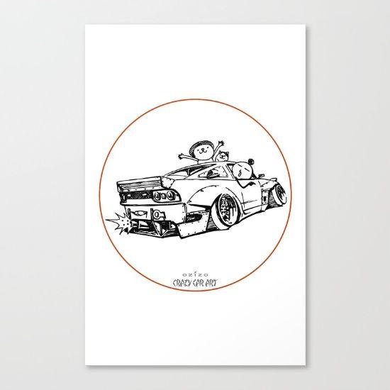 Crazy Car Art 0007 - $85